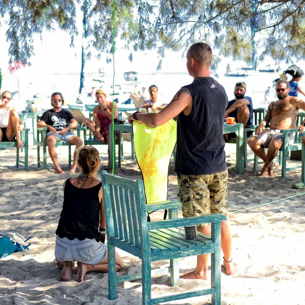 PADI IDC Trawangan Dive Instructor Development Course on Gili Islands
