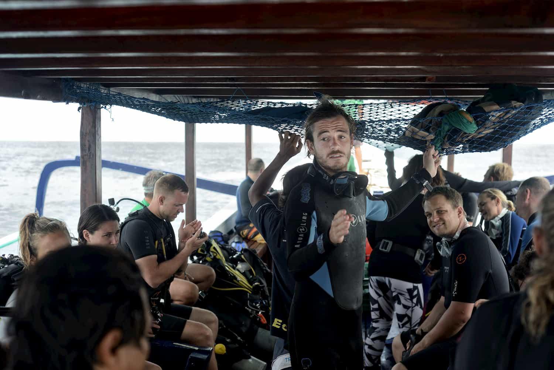 PADI 5 Star Career Development Center Dive Resort Trawangan Dive Gili