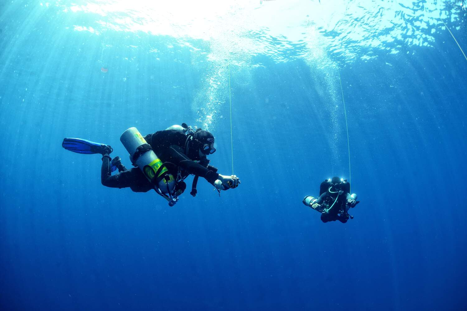 Decompression Procedures will teach the student to plan staged decompression dives with a maximum depth of 45 metres