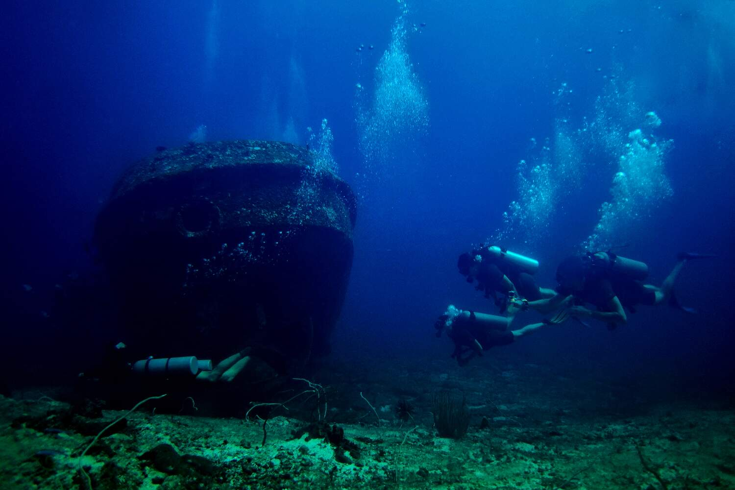 During your course you will learn safety considerations for navigation and exploring ship wrecks