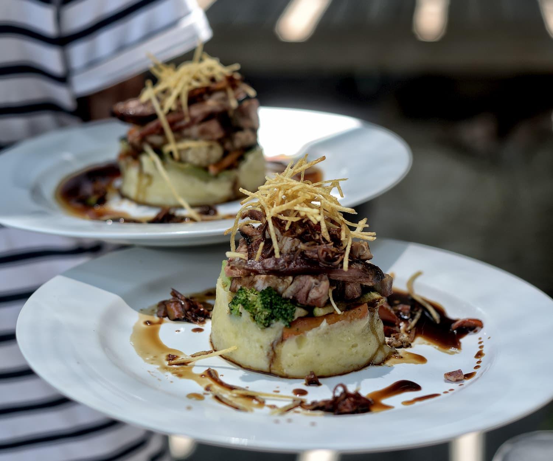 delicious and good food at fat cats gili trawangan
