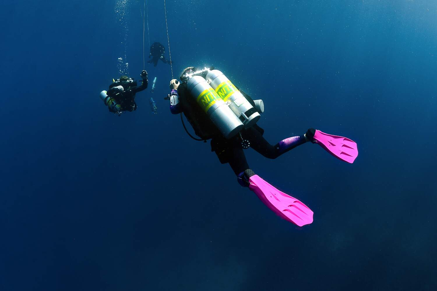 The TDI Decompression Procedures Course prepares you for planned staged decompression diving