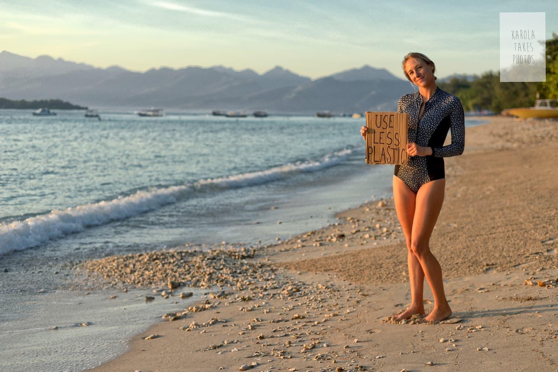 How to be an Eco-friendly tourist on Gili Trawangan